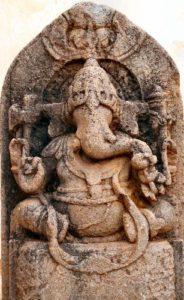Ancient Ganesha Carving
